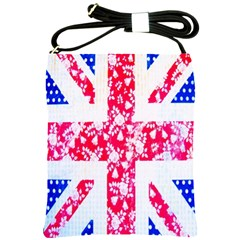 British Flag Abstract Shoulder Sling Bags