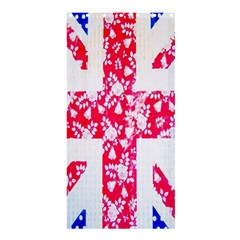 British Flag Abstract Shower Curtain 36  x 72  (Stall)