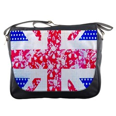 British Flag Abstract Messenger Bags