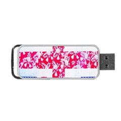 British Flag Abstract Portable Usb Flash (two Sides)