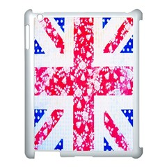British Flag Abstract Apple iPad 3/4 Case (White)