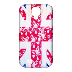 British Flag Abstract Samsung Galaxy S4 Classic Hardshell Case (PC+Silicone)