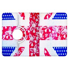 British Flag Abstract Kindle Fire HDX Flip 360 Case