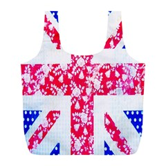 British Flag Abstract Full Print Recycle Bags (L)
