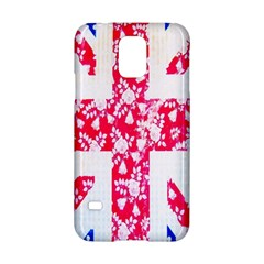 British Flag Abstract Samsung Galaxy S5 Hardshell Case