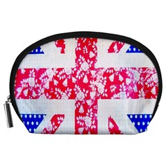 British Flag Abstract Accessory Pouches (large)