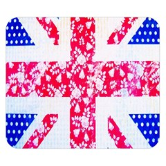 British Flag Abstract Double Sided Flano Blanket (Small)