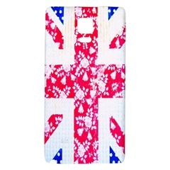 British Flag Abstract Galaxy Note 4 Back Case