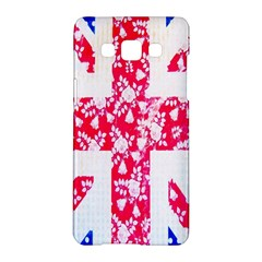 British Flag Abstract Samsung Galaxy A5 Hardshell Case