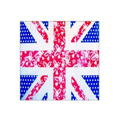 British Flag Abstract Satin Bandana Scarf