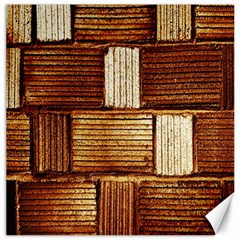Brown Wall Tile Design Texture Pattern Canvas 12  X 12