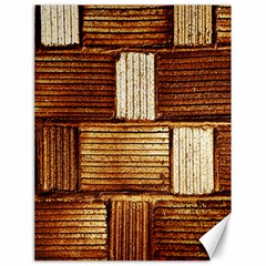 Brown Wall Tile Design Texture Pattern Canvas 18  x 24