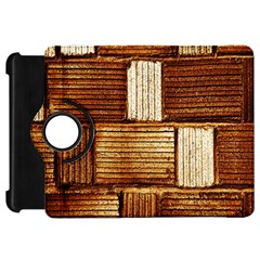 Brown Wall Tile Design Texture Pattern Kindle Fire Hd 7