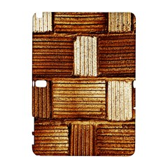 Brown Wall Tile Design Texture Pattern Galaxy Note 1