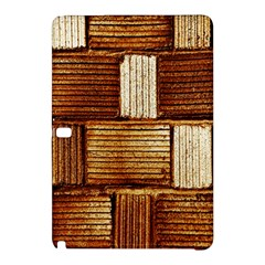 Brown Wall Tile Design Texture Pattern Samsung Galaxy Tab Pro 12 2 Hardshell Case