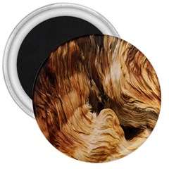 Brown Beige Abstract Painting 3  Magnets