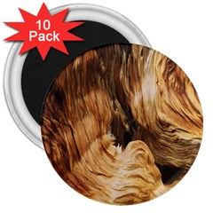 Brown Beige Abstract Painting 3  Magnets (10 pack)