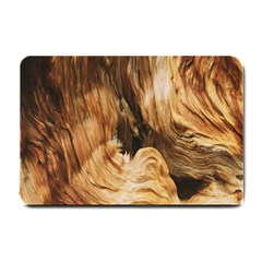 Brown Beige Abstract Painting Small Doormat