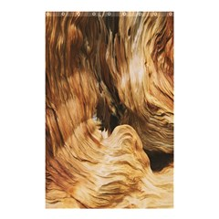 Brown Beige Abstract Painting Shower Curtain 48  x 72  (Small)