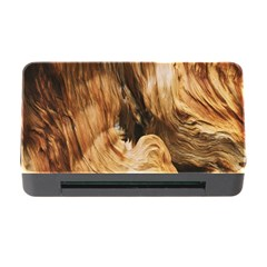 Brown Beige Abstract Painting Memory Card Reader with CF