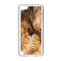 Brown Beige Abstract Painting Apple Ipod Touch 5 Case (white)