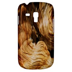 Brown Beige Abstract Painting Galaxy S3 Mini