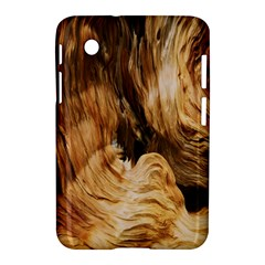 Brown Beige Abstract Painting Samsung Galaxy Tab 2 (7 ) P3100 Hardshell Case