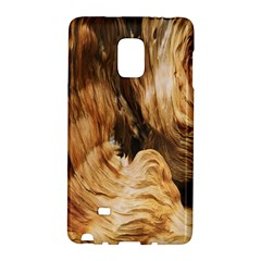 Brown Beige Abstract Painting Galaxy Note Edge