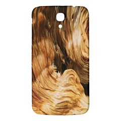 Brown Beige Abstract Painting Samsung Galaxy Mega I9200 Hardshell Back Case