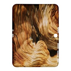 Brown Beige Abstract Painting Samsung Galaxy Tab 4 (10.1 ) Hardshell Case
