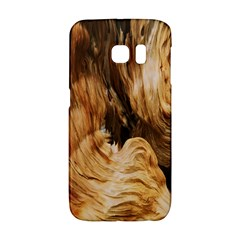 Brown Beige Abstract Painting Galaxy S6 Edge