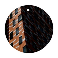 Building Architecture Skyscraper Ornament (Round)