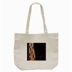 Building Architecture Skyscraper Tote Bag (Cream)