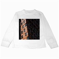 Building Architecture Skyscraper Kids Long Sleeve T-Shirts