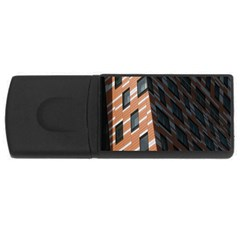 Building Architecture Skyscraper USB Flash Drive Rectangular (4 GB)