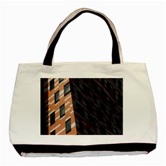 Building Architecture Skyscraper Basic Tote Bag (two Sides)