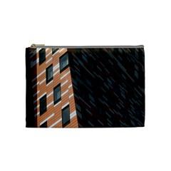 Building Architecture Skyscraper Cosmetic Bag (Medium)