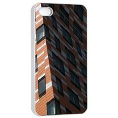 Building Architecture Skyscraper Apple iPhone 4/4s Seamless Case (White)
