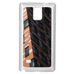 Building Architecture Skyscraper Samsung Galaxy Note 4 Case (White)