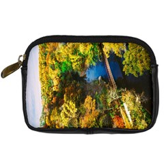 Bridge River Forest Trees Autumn Digital Camera Cases