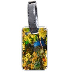 Bridge River Forest Trees Autumn Luggage Tags (One Side)