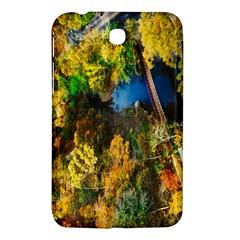Bridge River Forest Trees Autumn Samsung Galaxy Tab 3 (7 ) P3200 Hardshell Case