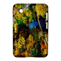 Bridge River Forest Trees Autumn Samsung Galaxy Tab 2 (7 ) P3100 Hardshell Case