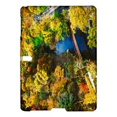 Bridge River Forest Trees Autumn Samsung Galaxy Tab S (10.5 ) Hardshell Case