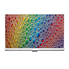 Bubbles Rainbow Colourful Colors Business Card Holders