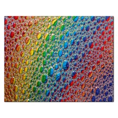 Bubbles Rainbow Colourful Colors Rectangular Jigsaw Puzzl