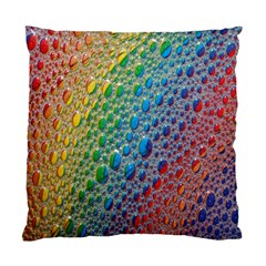 Bubbles Rainbow Colourful Colors Standard Cushion Case (Two Sides)