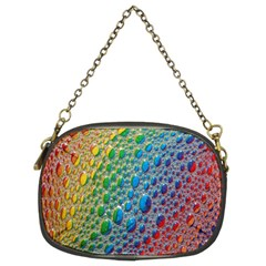 Bubbles Rainbow Colourful Colors Chain Purses (Two Sides)
