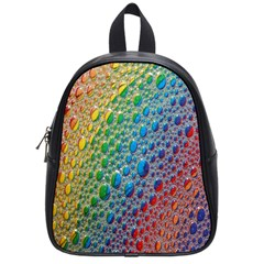 Bubbles Rainbow Colourful Colors School Bags (Small)