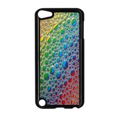 Bubbles Rainbow Colourful Colors Apple Ipod Touch 5 Case (black)